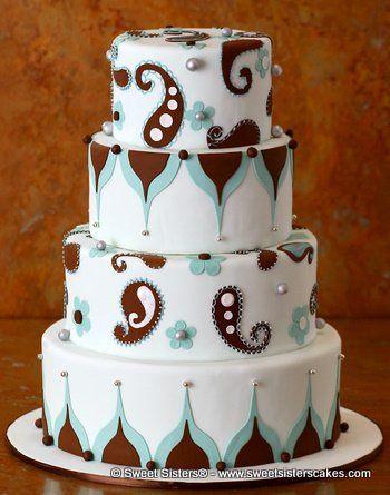 Tmx 1294096851249 DreamsofTiffany002.tif Fairfield wedding cake