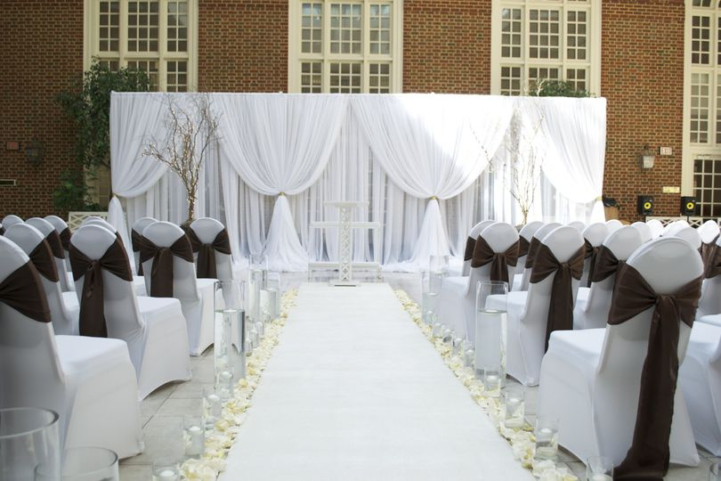 Ceremony Drapery - Regent University
