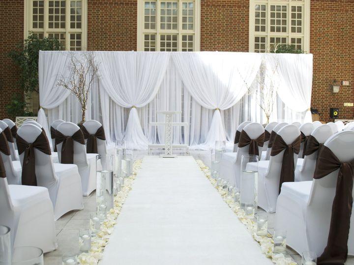 Tmx 1453308574519 3 7 15 Wedding Ceremony Backdrop Chesapeake, VA wedding eventproduction