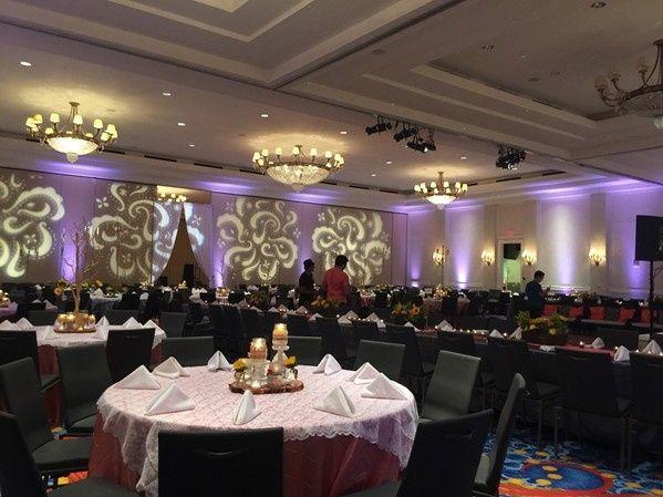 Tmx 1453308667363 Pasiley Gobos And Uplighting   Amin Wedding Chesapeake, VA wedding eventproduction