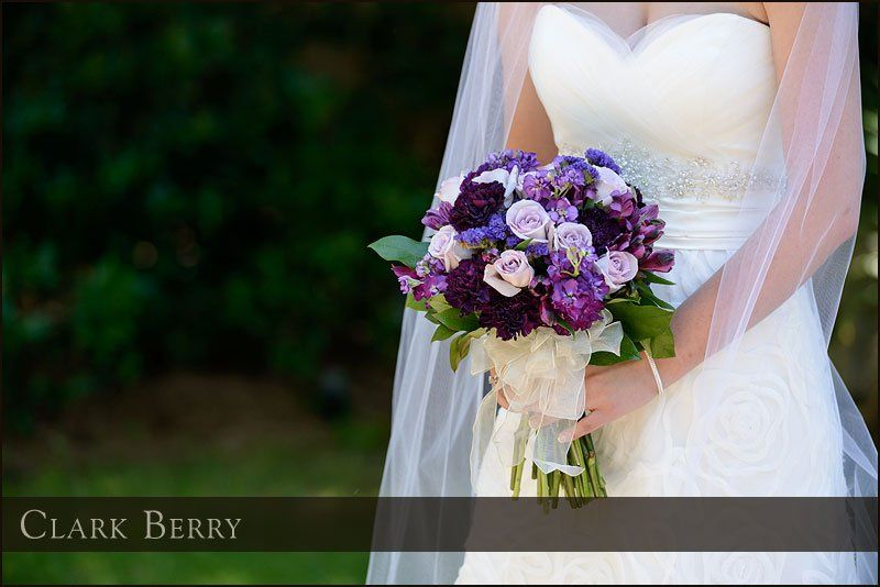 Bridal bouquet - Shades of purple