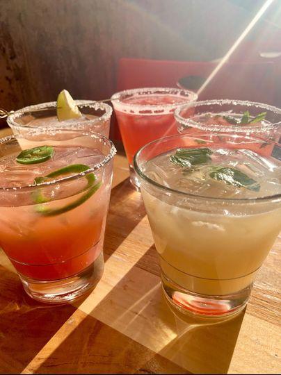 Refreshing margaritas