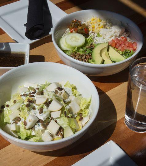 Flavorful salads