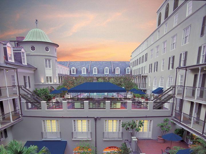 Tmx 1432751068710 Courtyard Aerial Dusk New Orleans, LA wedding venue