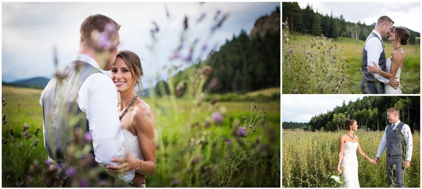 deer creek valley ranch wedding colorado mountain