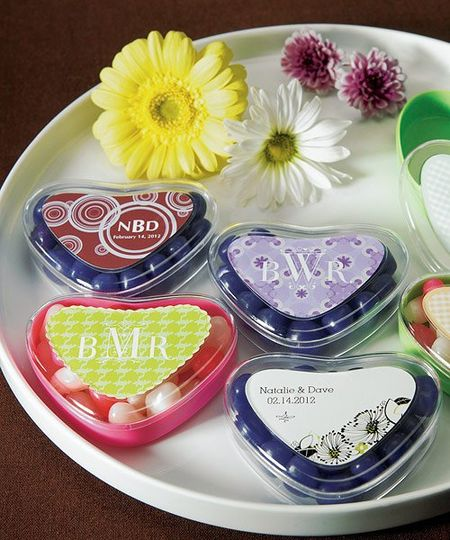 These plastic containers can easily hold all types of candies, including Jelly Bellies. Add a...