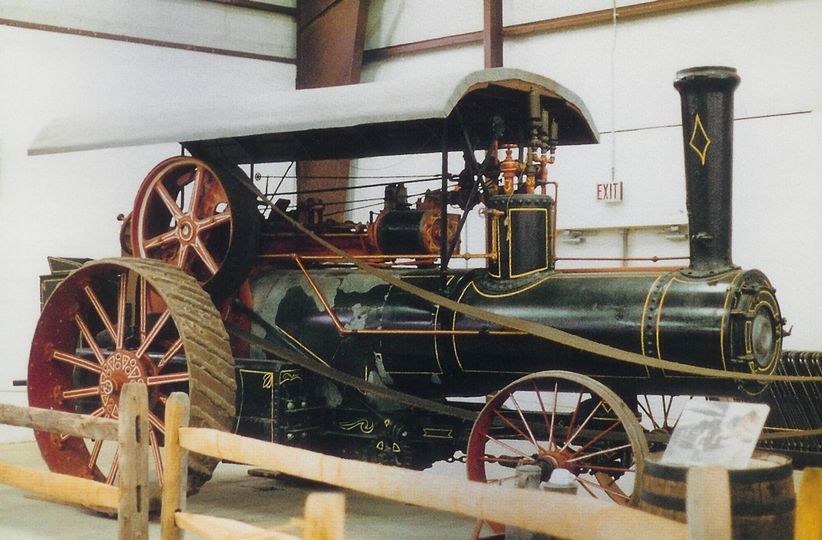 Awesome steam tractor