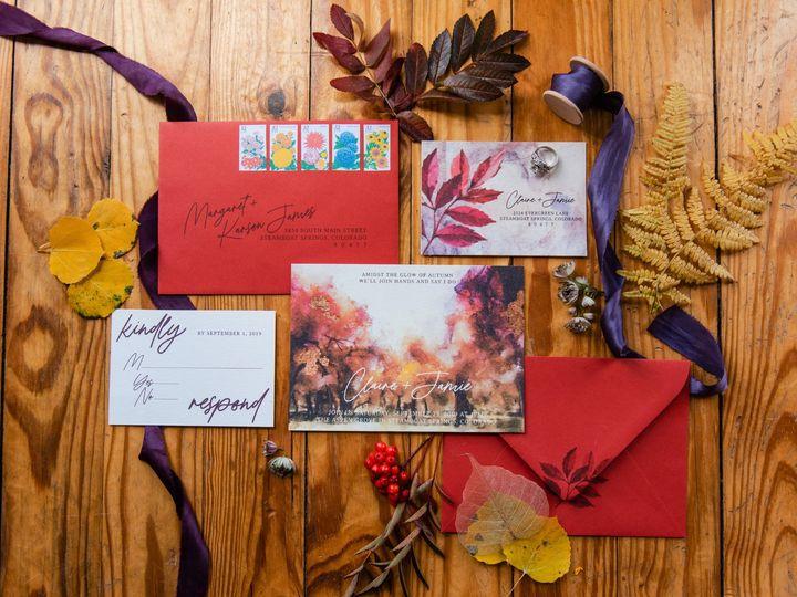 Tmx 01califrankovic Fallshoot2019 51 1069741 1572573033 Wheat Ridge, CO wedding invitation