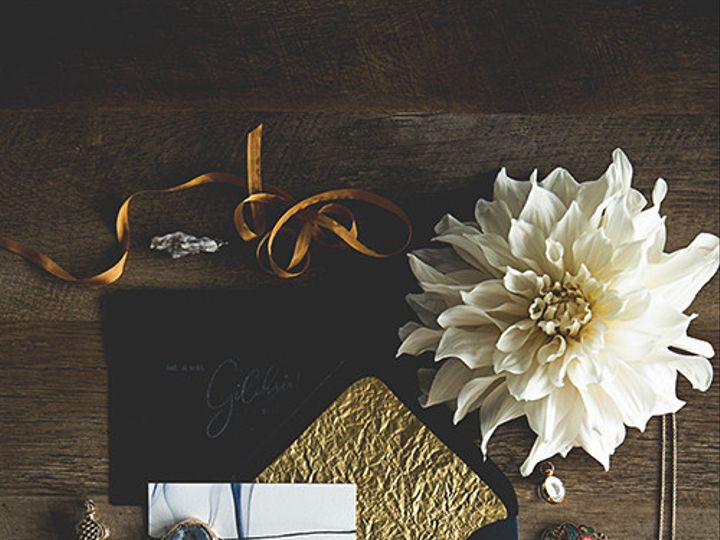 Tmx Moody Wedding Invitation Suite Gold Smoke 51 1069741 1559585123 Wheat Ridge, CO wedding invitation