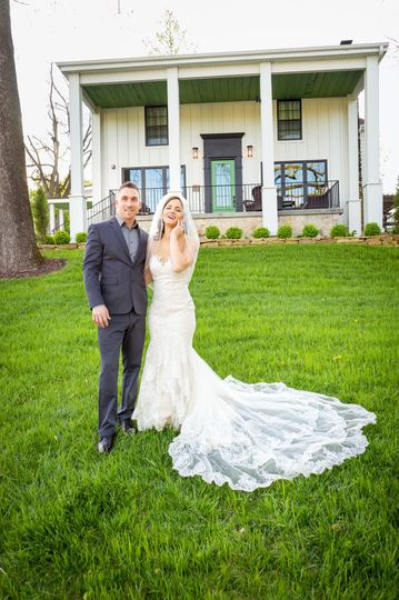Lana Raquel Photography - Couple on the lawn