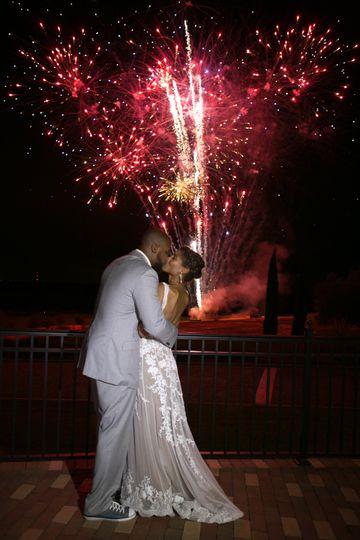 Fireworks Display Wedding