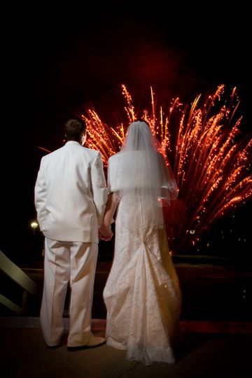 Magical Wedding Fireworks