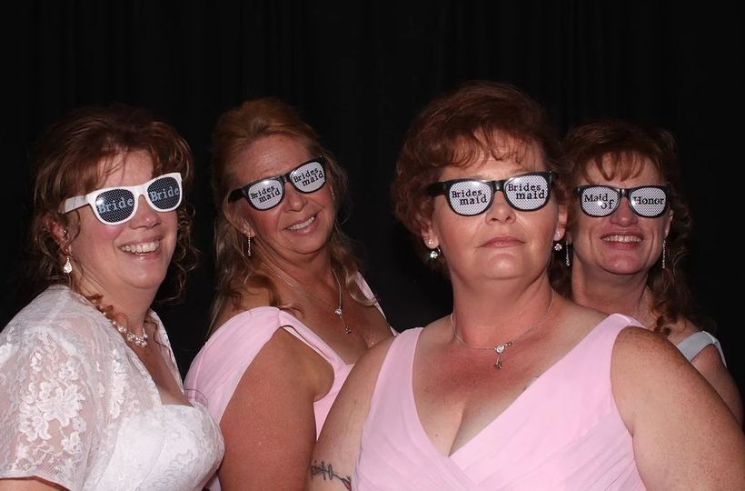 Bridesmaid Photo Booth