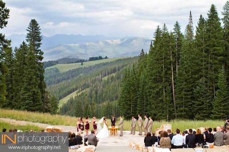 Mountain Style Wedding