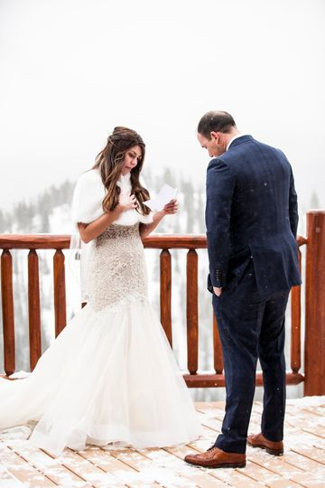 Personalize Vows-The Lodge