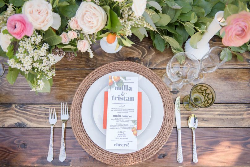 Center piece/place setting