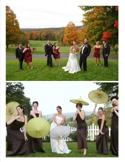 Bridal Party-Outside