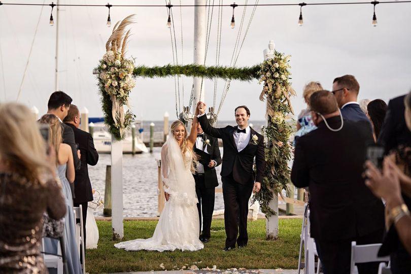 Florida Yacht Club Wedding
