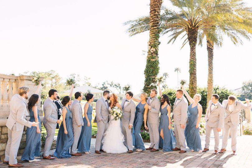 Brunch wedding at TPC Sawgrass