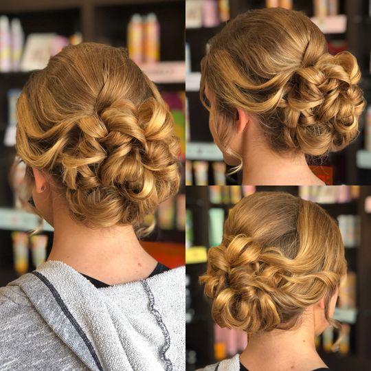 Curl bun