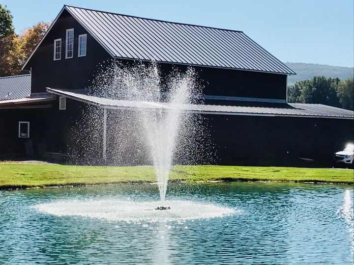 Highview Springs Farm & Event Barn lake