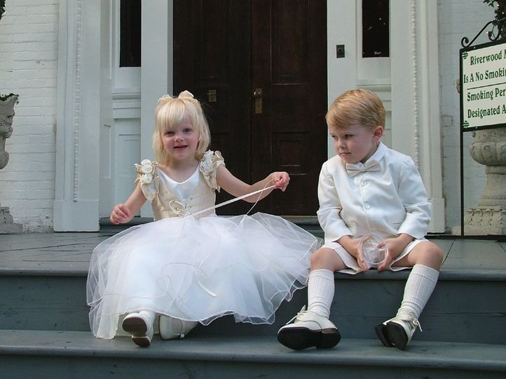 Flower girl and page boy clothes