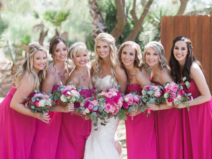 Tmx 1483505950728 Janca Weddingwedding Party 39 Thousand Oaks wedding beauty