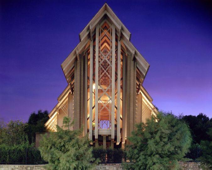 Castle like church