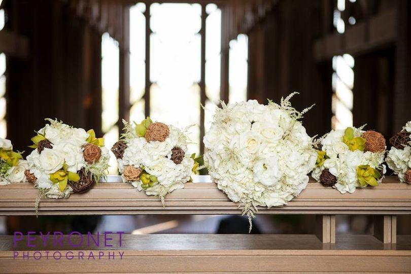 Big white bouquet