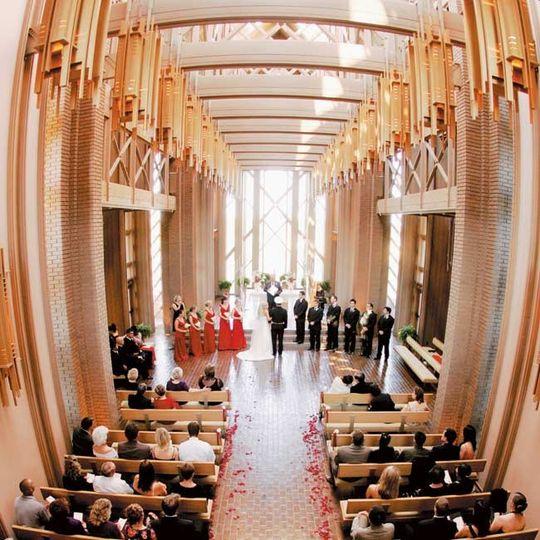 Fresh wedding venue