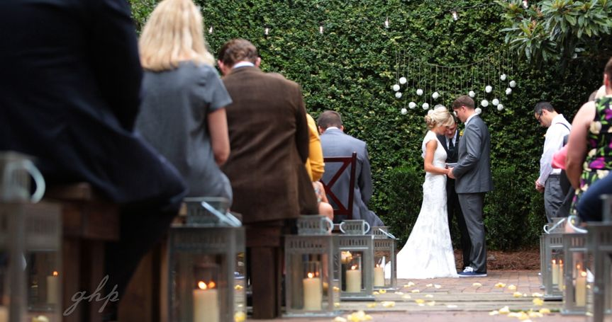 Stephanie & Cory's rustic chic wedding at The Atrium