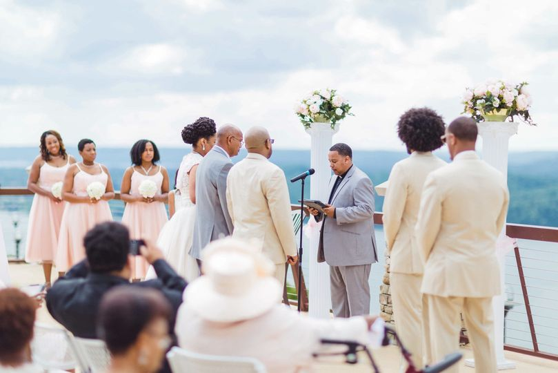 Alabama mountain ceremony wedding  Legacy of Love Premiere Wedding Photography...