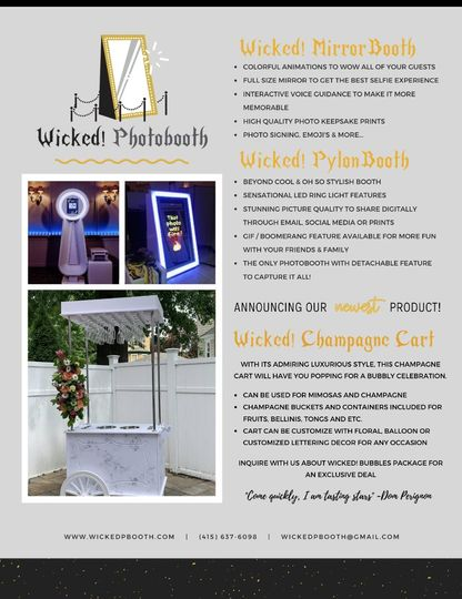 Champagne cart product