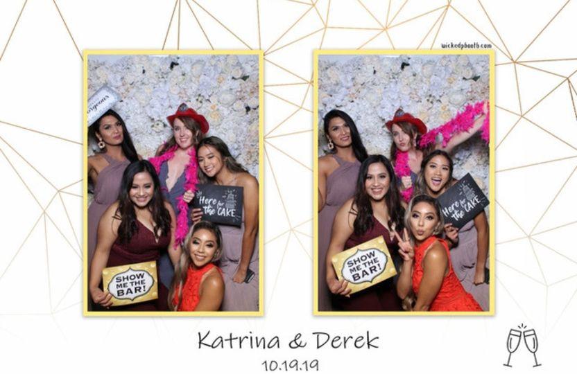 Bridesmaids photo