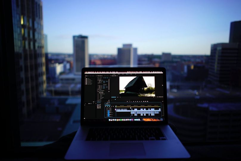 The editing room