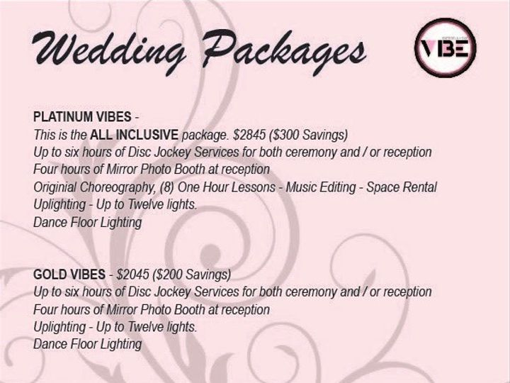 Tmx Vibe Wedding Packages 2 51 1016841 1561130573 Pasadena, MD wedding dj