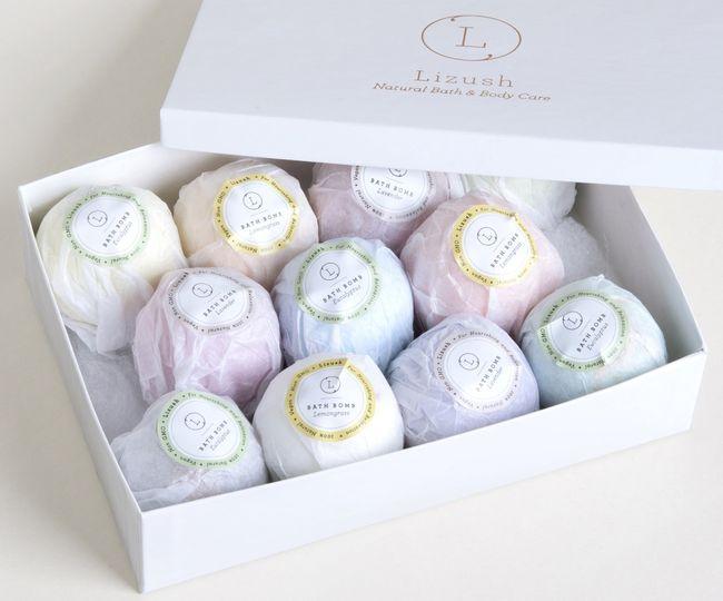 Bath bombs - gift box