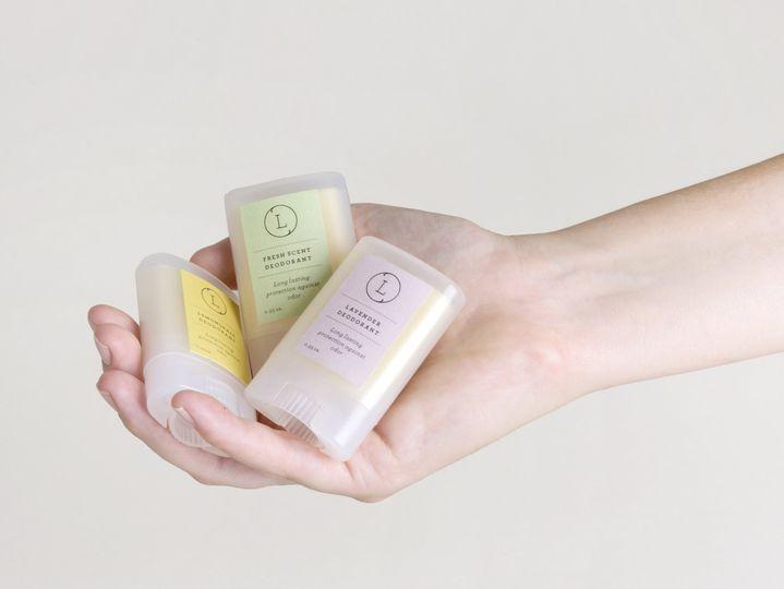 Miniature deodorant