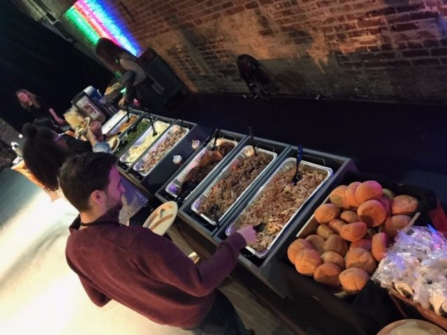 Sweet P's Catering Buffet