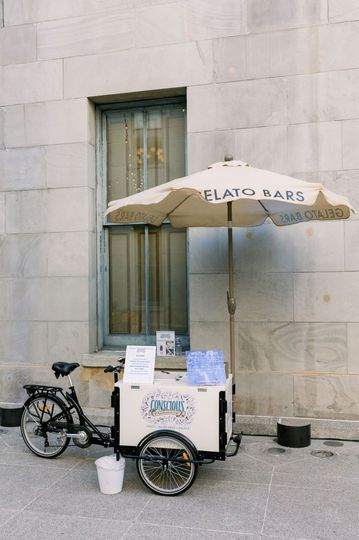 The icicle tricycle for bars