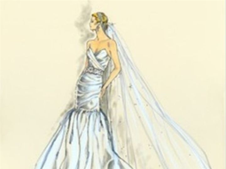 Tmx 1415832518156 Illustrating Your Fashion 11 Kansas City wedding dress
