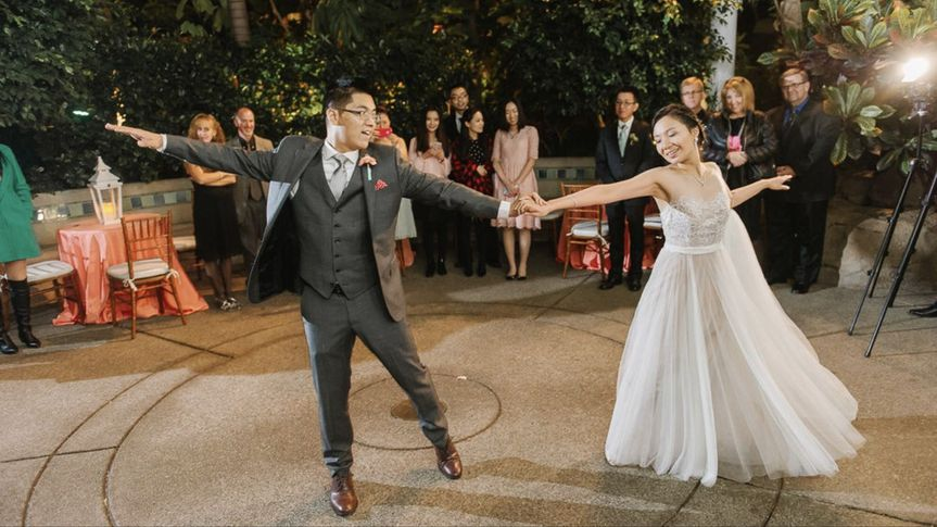 One Epic first dance! (Photo Credit Sky's The Limit)