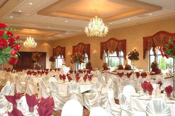 Elegant ballrooms.