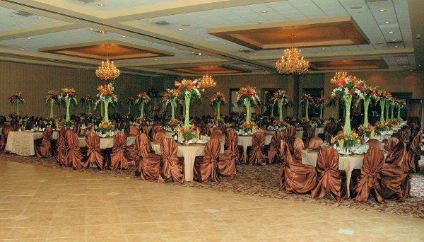 Elegant ballrooms