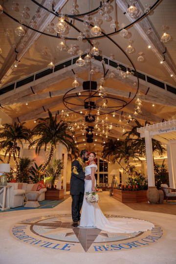 Margaritaville Resort Lobby