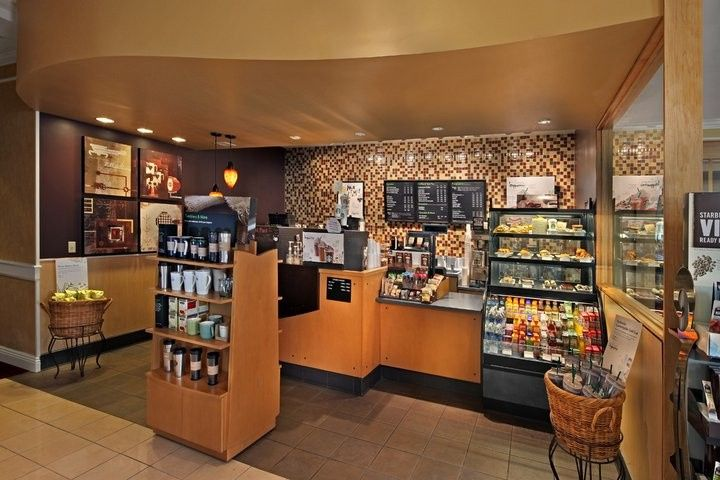 Starbucks ~ located in the lobby!