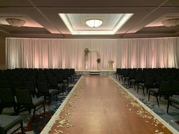 Ceremony space Mystic Ballroom