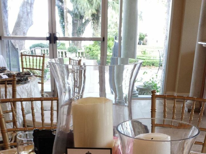 Tmx 1460571880071 Sample Centerpiece   Candles And Petals Jacksonville wedding planner