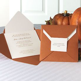 This invitation is made up of 4 paper pieces. Your invitation is printed on a single piece of Jean M...