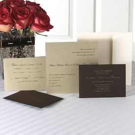 Tmx 1213911506805 Abby GoldBrownpr Austin wedding invitation